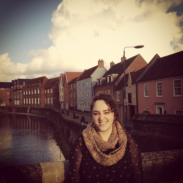 Me in Norwich by the canal