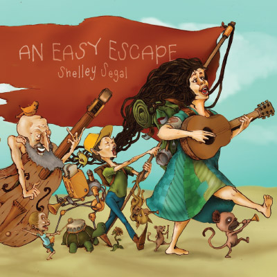 ShelleySegal_AnEasyEscape_cover_lrg