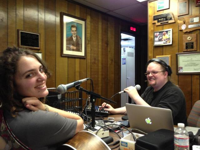 In studio with Sam Mulvey (Host of Ask An Atheist) during the live recording